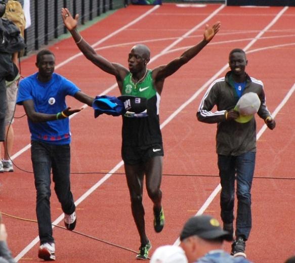 Lomongcelebratesmaking2012OlympicTeam