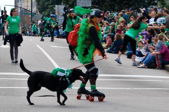 Rollergirlanddog2013