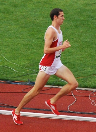 Ryan Hill competed in the Olympic trials last year but didn't win one of the coveted spots to go to London.